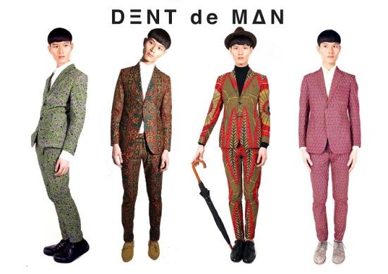 Dent De Man Spring Summer 13 African Inspired Tailoring